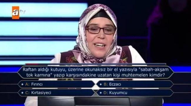 SEVİLEN YARIŞMADA SORULAN SORU ECZACILARI AYAĞA KALDIRDI..